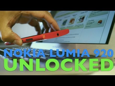How to unlock Nokia Lumia 920 (AT&T)