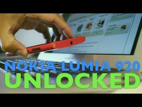 How to unlock Nokia Lumia 920 (AT&T)