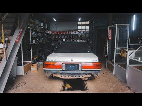 Toyota Crown 131 / Замена кузова и рамы