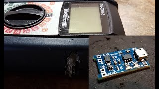 DIY USB Rechargeable Multimeter - TP4056 Module - 18650