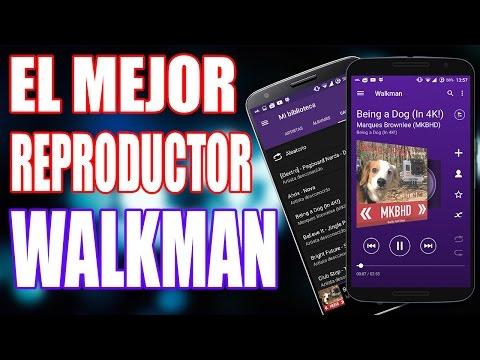 El Mejor Reproductor de Música para Android 2015: WALKMAN (Descarga .apk)
