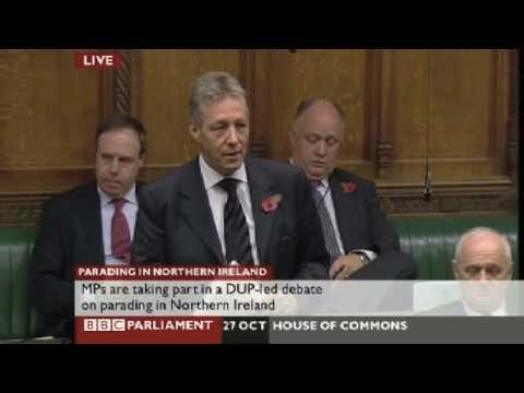 Parading Debate - Peter Robinson - Part 1