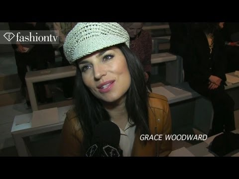 Beverley Knight and Fashionistas Front Row at Jasper Conran Fall 2012 | London FW | FashionTV