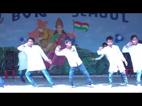 kahte hai humko pyar se india wale song performance by BVN School, patna, bihar