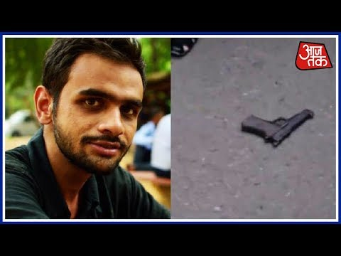 JNU Leader Umar Khalid Shot At Near Constitution Club In Delhi | Breaking News