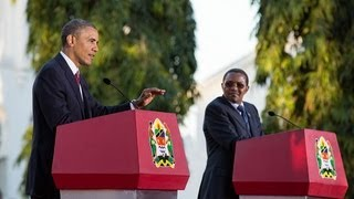 President Obama and President Kikwete Hold a Press Conference  7/4/13