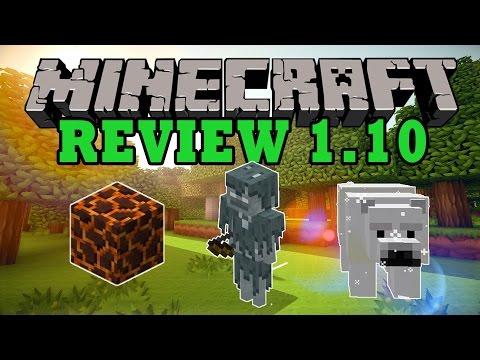 Minecraft Review 1.10 [TODOS LOS CAMBIOS]