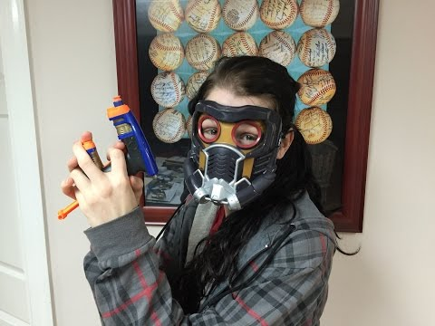 Review: Nerf Starlord Mini-Blaster and Mask (Guardians of the Galaxy)