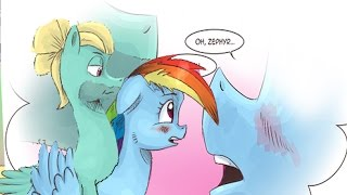 MY LITTLE PONY COMIC DREAMING OF MY LITTLE DASHIE