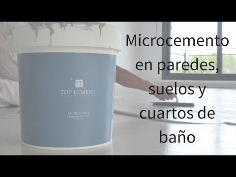 Microcemento videolike - Como aplicar microcemento ...