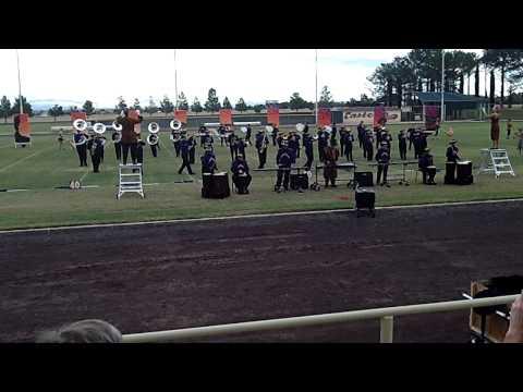 Eastern Arizona College  Marching Band Performance 2014