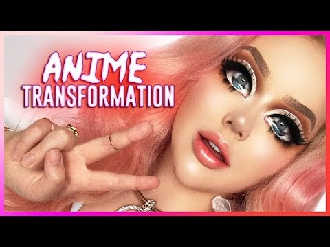 EXTREME ANIME MAKEUP TRANSFORMATION