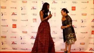 Ethiopian Airlines Ms. Seble Balcha's appearance and presentation at the 2015 African Goodwill Award