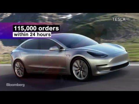 Say Hello to Tesla's Stunning New Model 3
