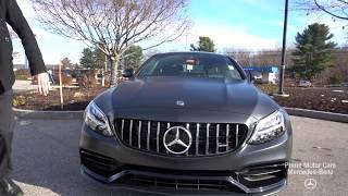 RARE BRAND NEW 2019 Mercedes-Benz C-Class C 63 AMG® COUPE video review with Spencer