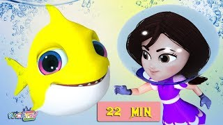 Baby Shark Dance | Fish Song | + More Kids Songs | Nursery Rhymes for Kids