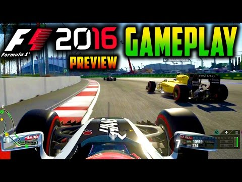 F1 2016 PS4 Gameplay: HAAS F1 RACE AT RUSSIA (F1 2016 Direct Capture Gameplay)