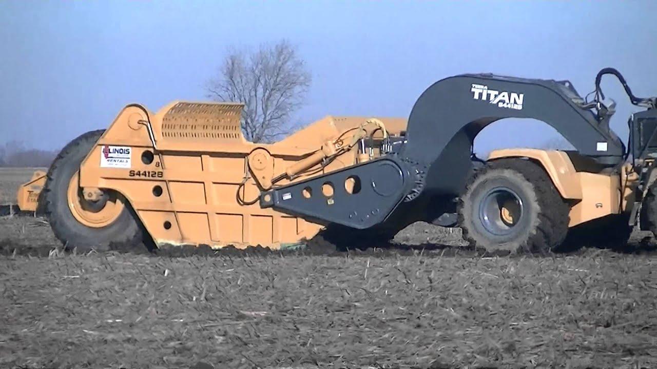 2008 Bell Amp Titan Scraper 420sd Tractors Titan S4412