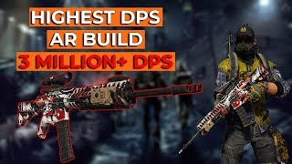 Division 2: INSANE DPS ASSAULT RIFLE BUILD! 3 MILLION+ DPS! 100%+ DAMAGE INCREASE! FREE FROM NERFS!