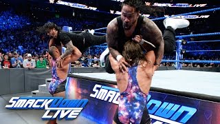 The Usos vs. American Alpha - SmackDown Tag Team Championship Match: SmackDown LIVE, April 11, 2017