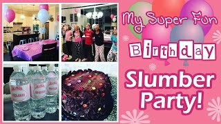 How to Throw the Best 11 Year Old Slumber Party Ever!