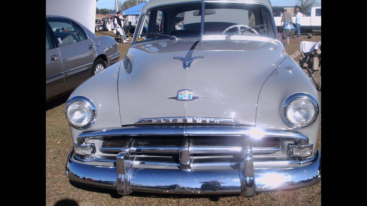 1951 Plymouth Cranbrook 4 Door Sedan Youtube