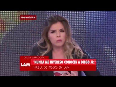 El motivo por el cual Dalma Maradona no tiene relación con Diego Jr.