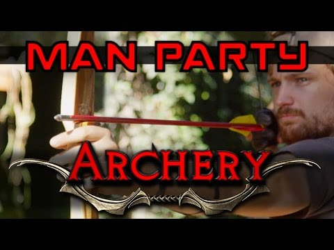Archery - Shoot an Apple off my head - MAN Party