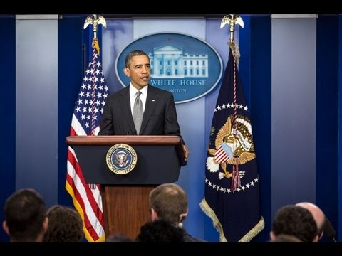 President Obama Speaks on Attacks in Boston