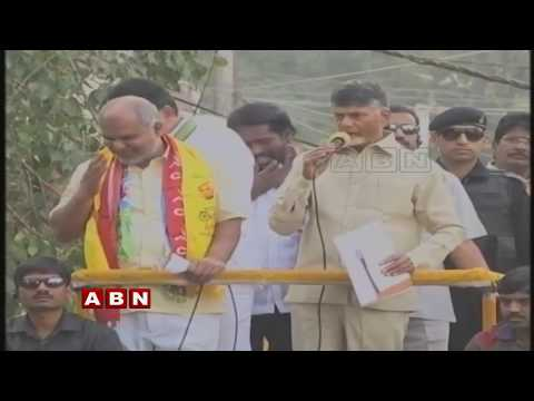 Chandrababu Naidu Malakpet Road Show Live | Telangana Elections 2018 | ABN LIVE