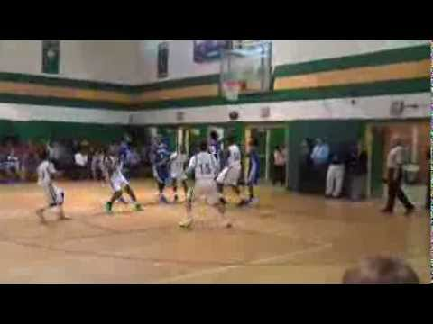 Jordan Ferguson has a stellar night against Westover Middle School
