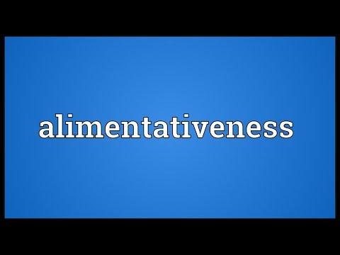 Header of alimentativeness