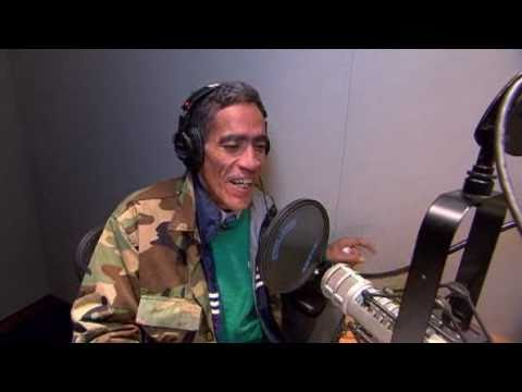 Ted Williams kicks off NBCs Today Show Homeless man with golden radio voice