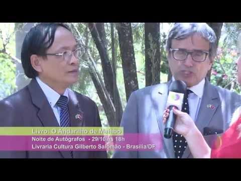 """Embaixador Raul de Taunay  lança """"O ANDARILHO DE MALABO"""""""