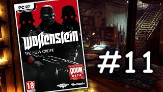 Wolfenstein: The New Order - Akční let's play | #11 | CZ/SK