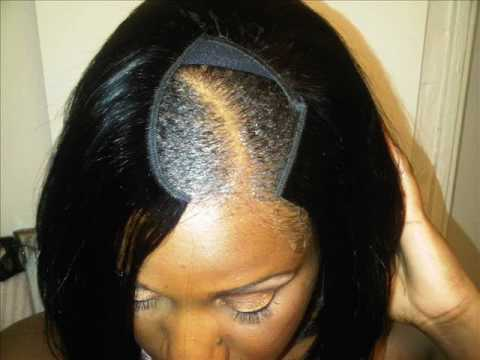 "SUMMER QUICK WEAVE ""BOB"" TUTORIAL w/ INVISIBLE PART - YouTube"