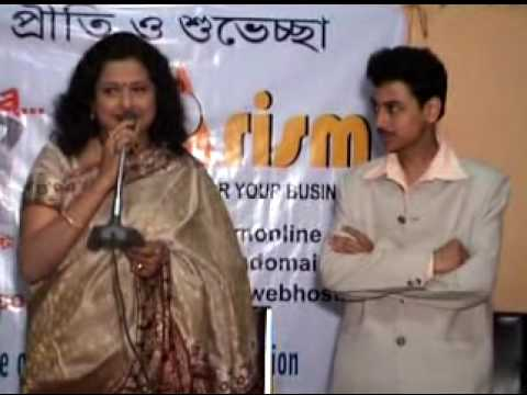 Speech of Mita Chatterjee regarding launching of KolkataUtsav...