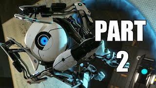 Let's Play Portal 2 - Part 2 (Gameplay & Commentary)
