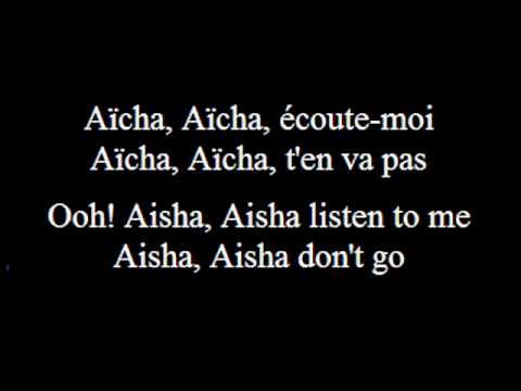 Aicha - Cheb Khaled - French (subs francais -anglais-French-...