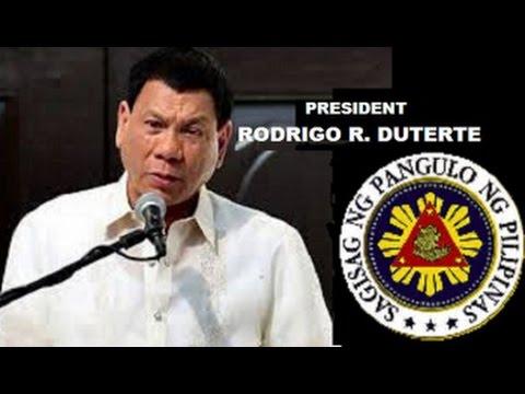 President Rodrigo Roa Duterte's Cabinet Secretary Announcements