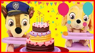 Paw Patrol Chase Birthday Party with Skye and Trolls Movie | Ellie Sparkles pt 2
