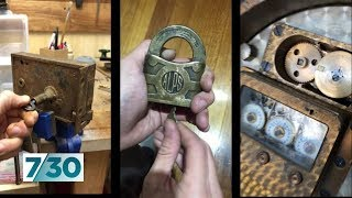 The locksmith keeping antique locks working | 7.30