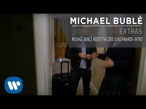 Michael Bubl Hosts the 2013 JUNO Awards - Intro