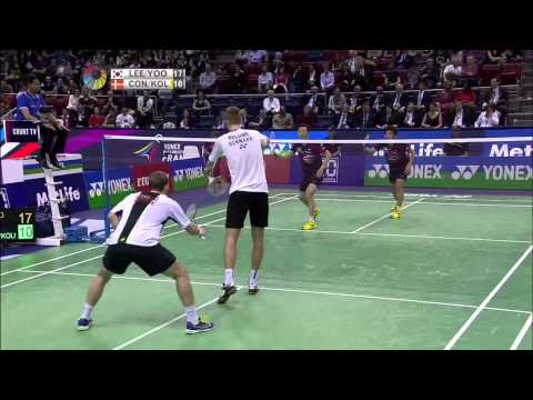 Yonex French Open 2015 | Badminton F M5-MD | Lee/Yoo Vs Con/Kol