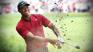 See every shot of Tiger Woods' final-round 64 in the 2018 PGA Championship