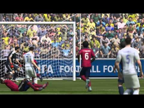 FIFA 15 - Jack Wilshere Goal (PS4/HD)