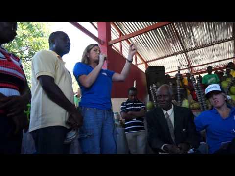 Dani Johnson Haiti Mission 2014