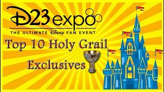 Disney D23 Expo 2017 Planning Part 14: The Holy Grail Exclusives Limited Edition Merchandise