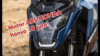 Harga hanya Rp 18 juta saja dapat motor keren ini, New Honda X Blade 160 ABS 2019.