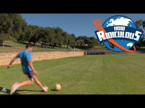Football (Soccer) Trick Shots - How Ridiculous
